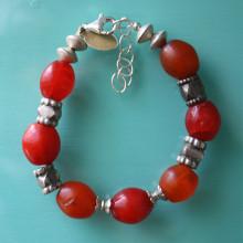 African Amber Bracelet