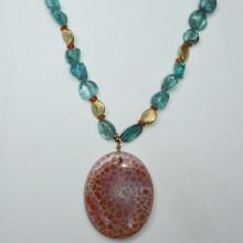 Apetite, carnelian necklace