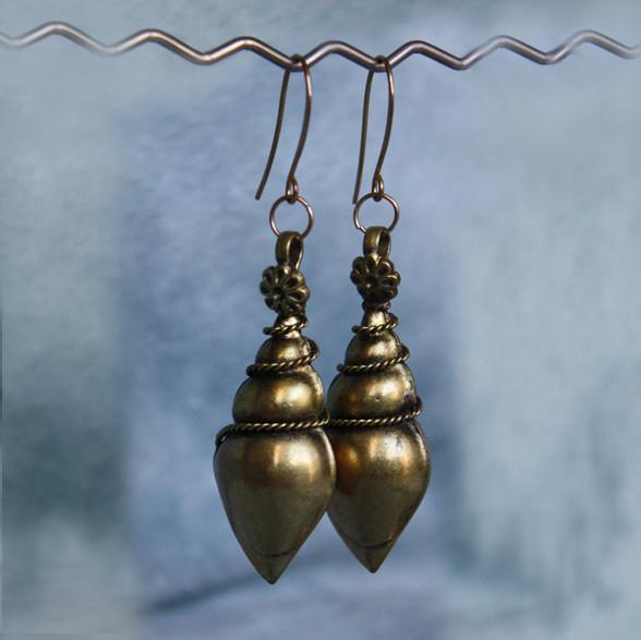 Brass-Indian-Earrings