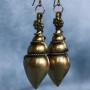 Brass Indian earrings