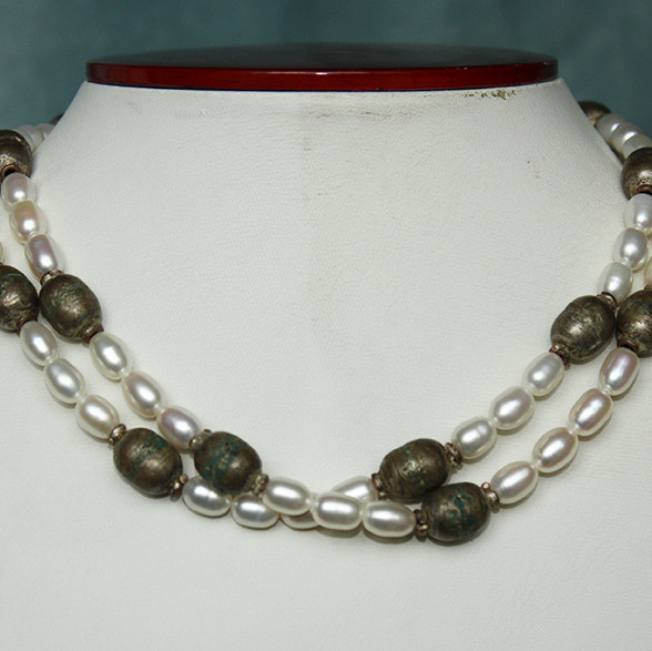 Pearl & Silver African