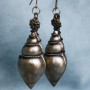 Silver Metal Indian earrings