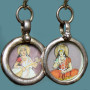 Tiny Indian Painting Earrings